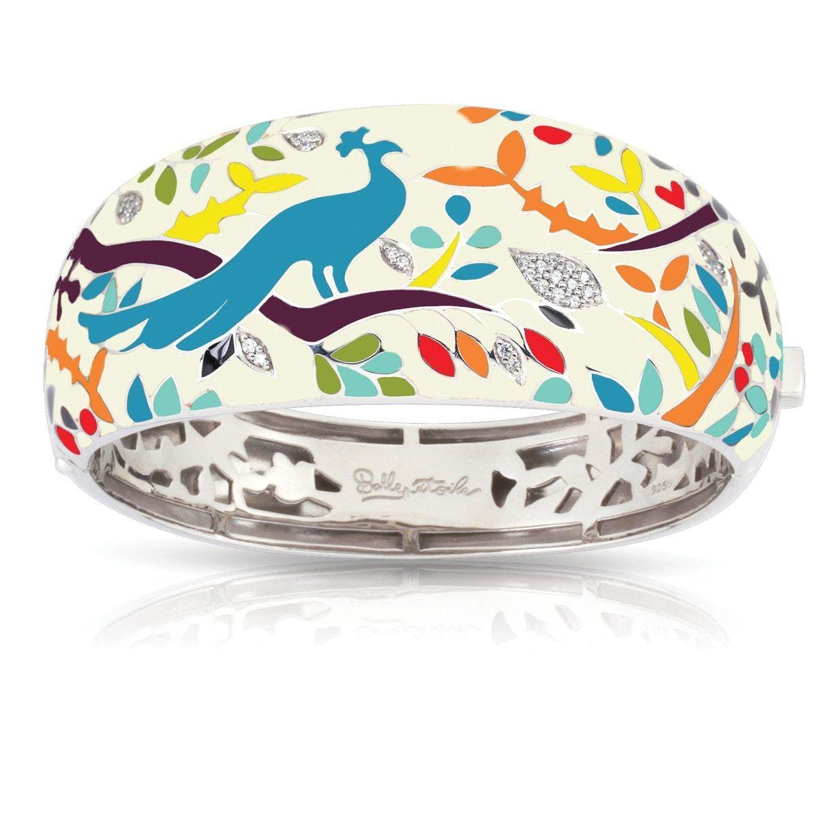 Peacock Paradise Multi Bangle-Belle Etoile-Renee Taylor Gallery