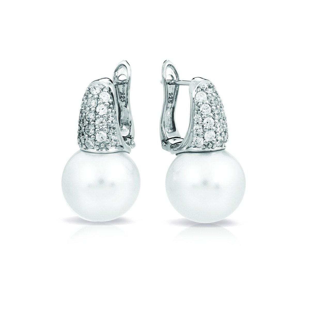 Pearl Candy White Earrings