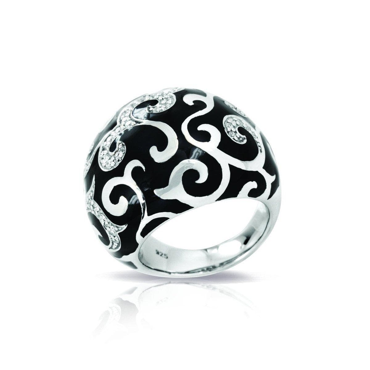 Royale Black Ring-Belle Etoile-Renee Taylor Gallery