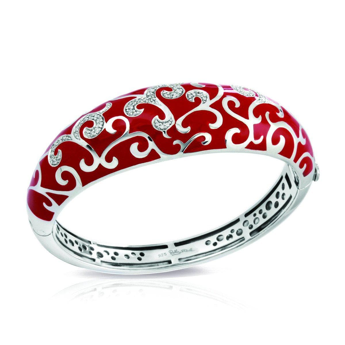 Royale Red Bangle-Belle Etoile-Renee Taylor Gallery