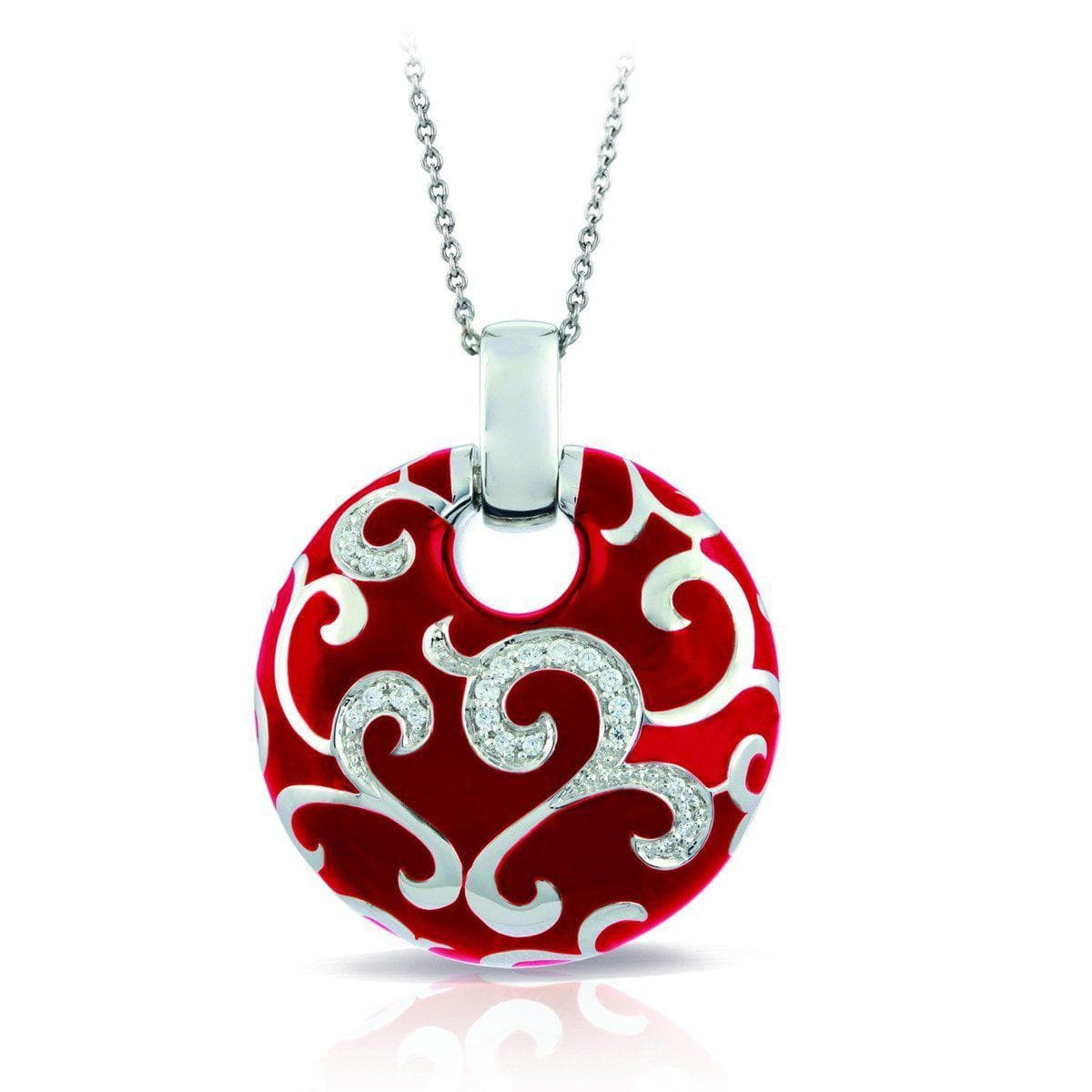 Royale Red Pendant-Belle Etoile-Renee Taylor Gallery
