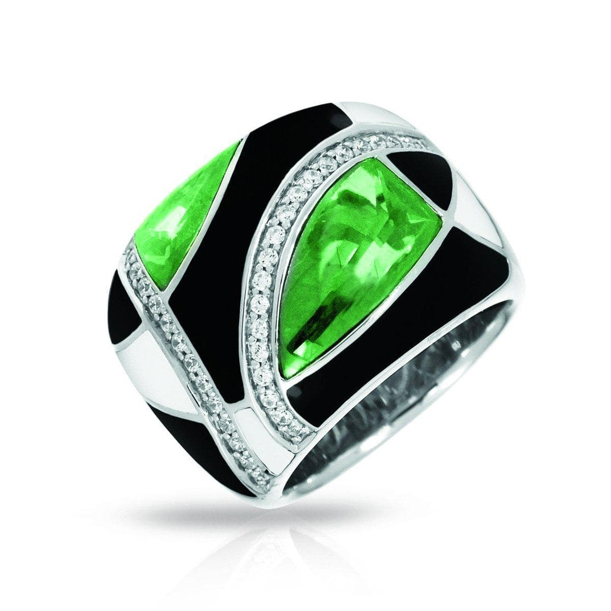 Tango Emerald Ring-Belle Etoile-Renee Taylor Gallery