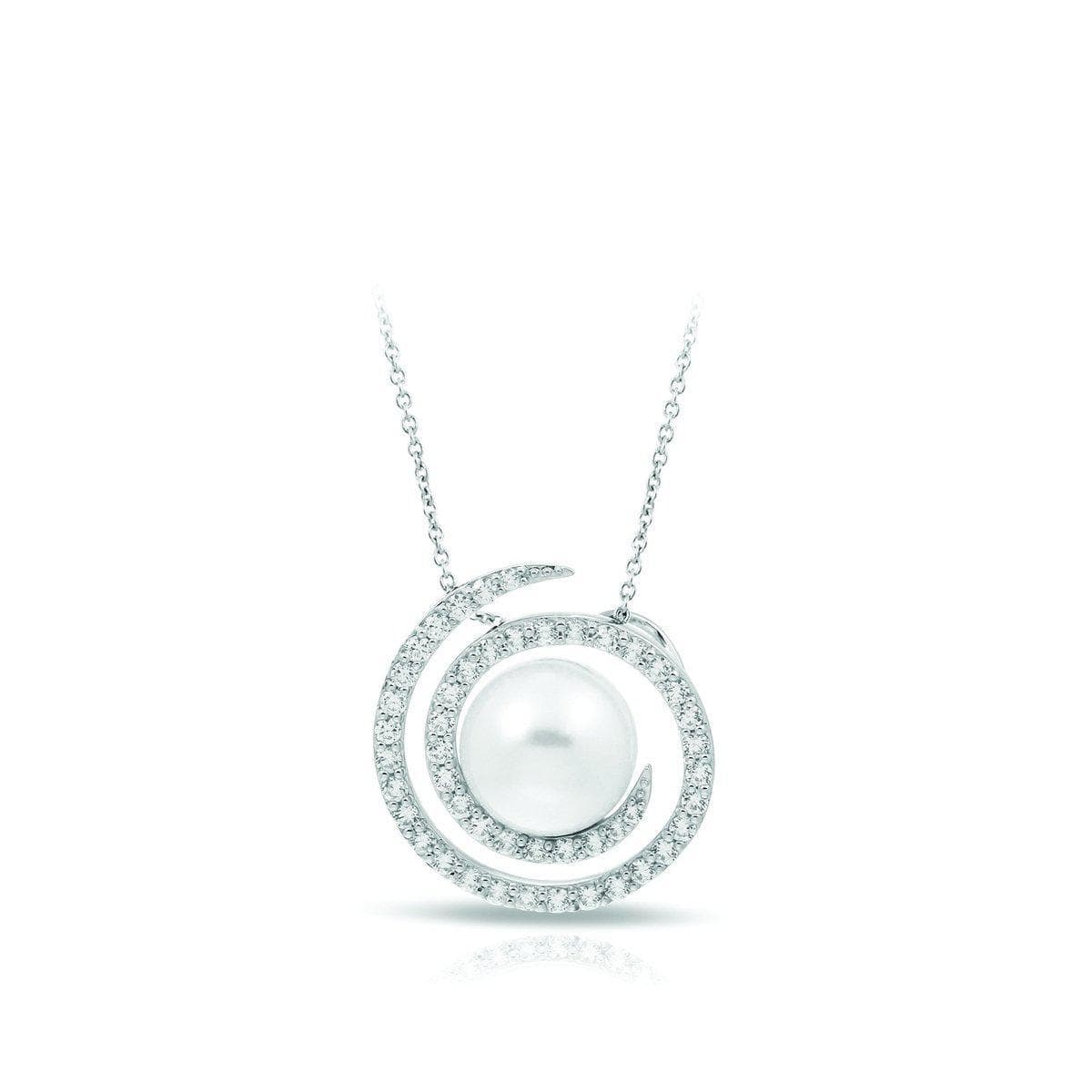 Thea White Pendant-Belle Etoile-Renee Taylor Gallery