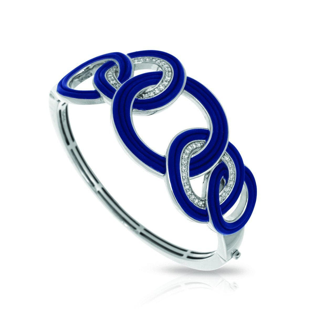 Unity Blue Bangle-Belle Etoile-Renee Taylor Gallery