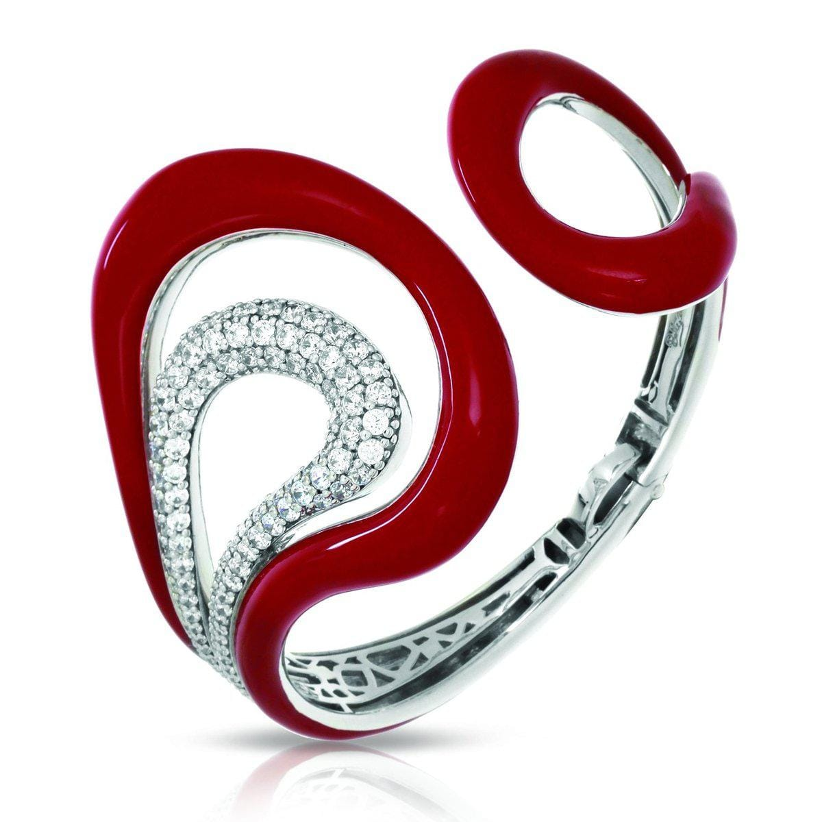 Vapeur Red Bangle-Belle Etoile-Renee Taylor Gallery
