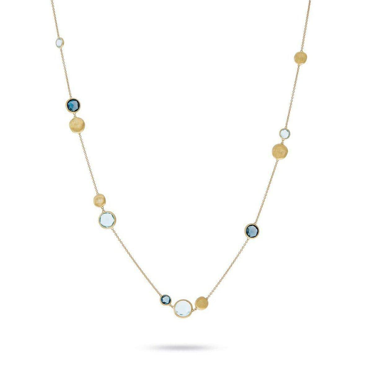 "18K Jaipur Necklace - CB1485 MIX725 Y 16.25""-Marco Bicego-Renee Taylor Gallery"