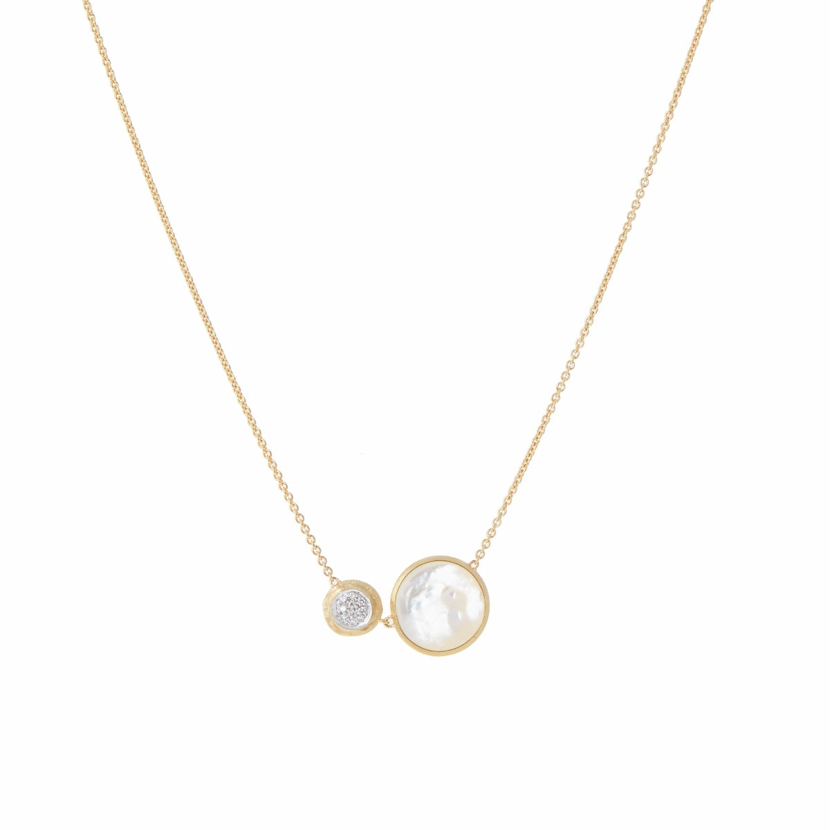 18K Jaipur Necklace - CB2172 B MPW YW