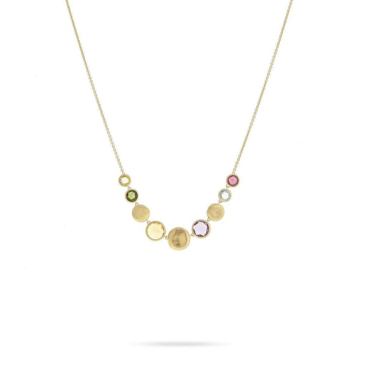 18K Jaipur Necklace - CB2241 MIX01 Y 16.5""