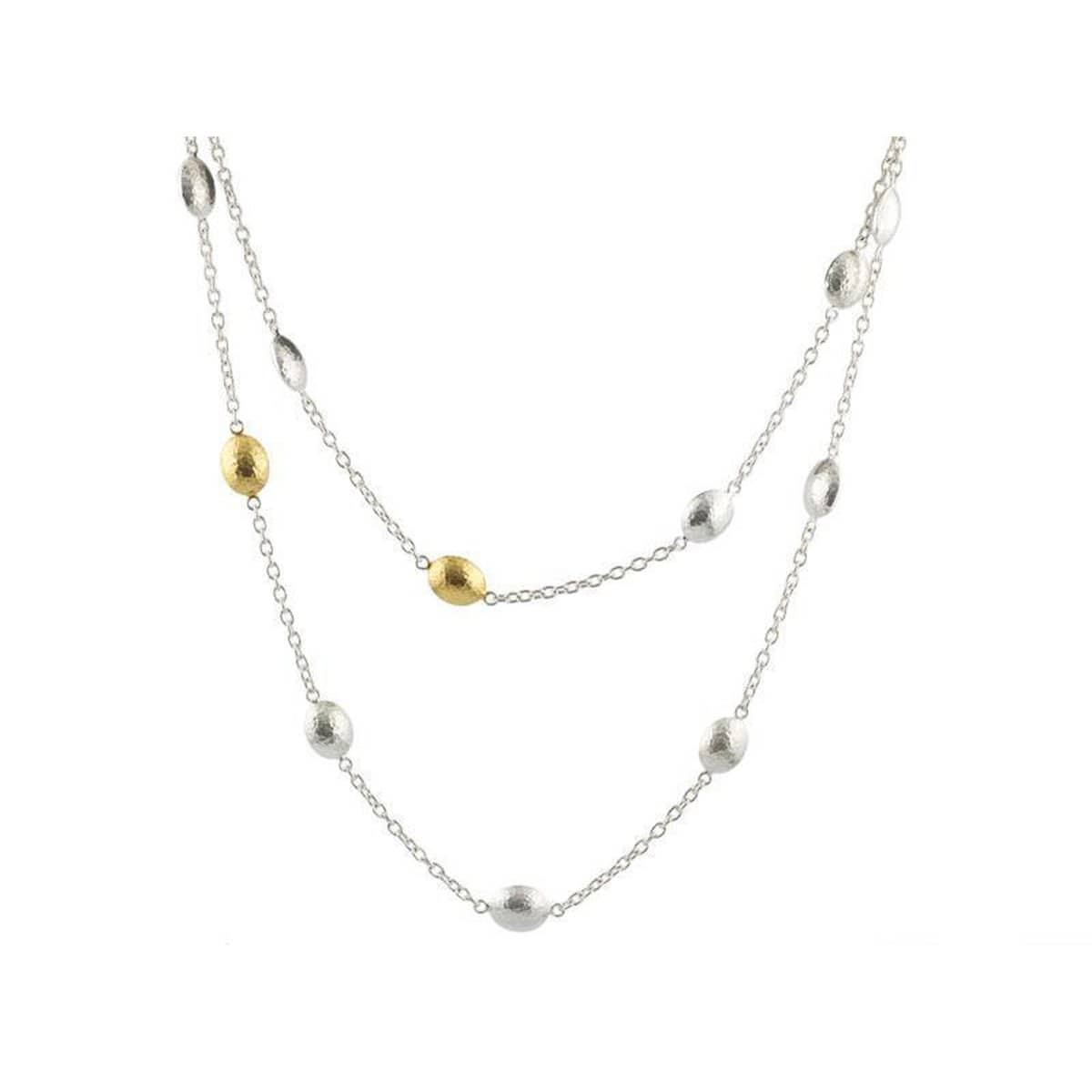 Jordan Sterling Silver Necklace - CHN-1310LST-MXM6-125