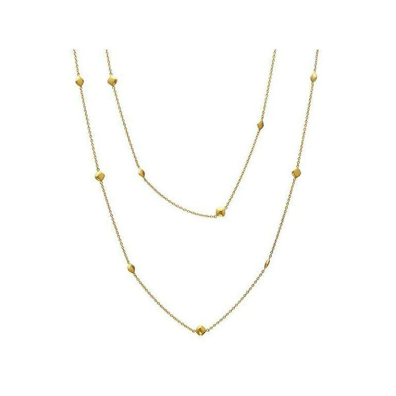 Spell 22K Gold Necklace - CHN-14CLT-LST-365-GURHAN-Renee Taylor Gallery