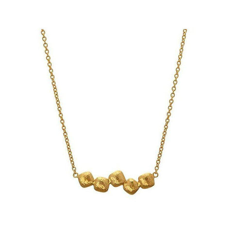 Spell 22K Gold Necklace - CHN-5CLT-BR-18-GURHAN-Renee Taylor Gallery