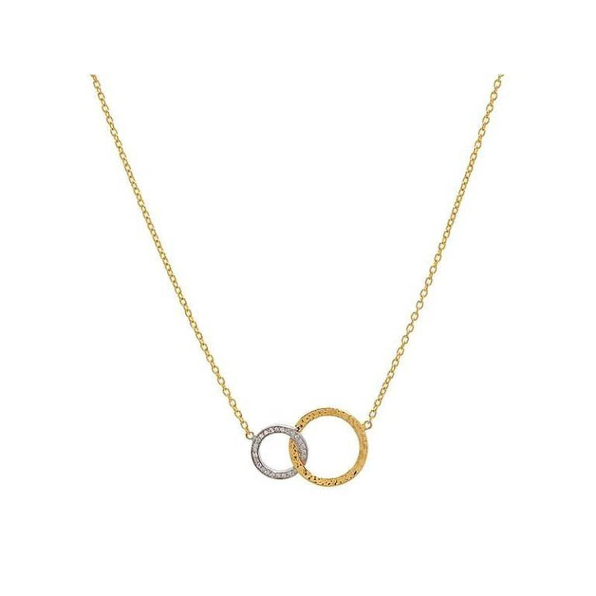 Duet 22K Gold Diamond Necklace - CHN-INT-2RD-H-25DI-GURHAN-Renee Taylor Gallery