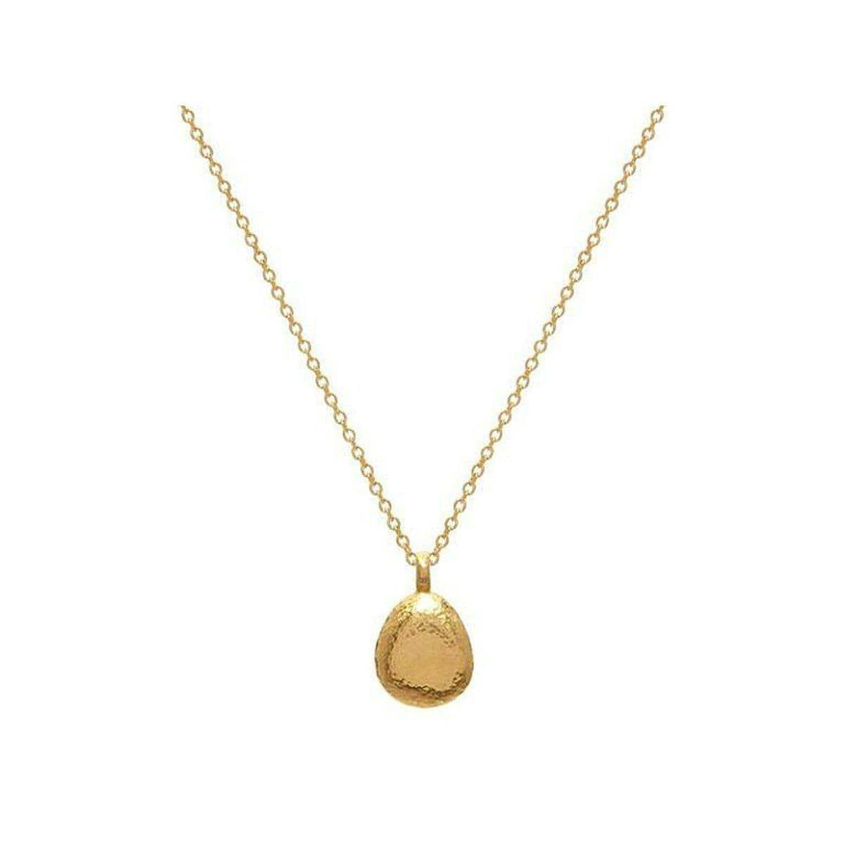 Spell 22K Gold Necklace - CHN-PBLD-16MM-GURHAN-Renee Taylor Gallery