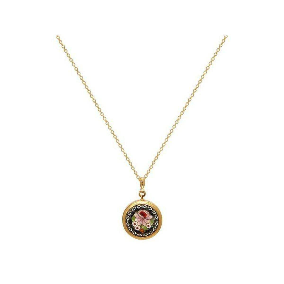 Antiquitites 24K Gold Mosaic Necklace -CHN-U23155-MZ-GURHAN-Renee Taylor Gallery