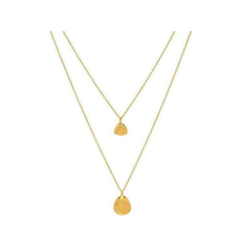 Spell 22K Gold Necklace - CHN2-PBLD-MX-GURHAN-Renee Taylor Gallery