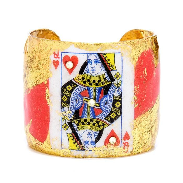 Queen of Hearts Cuff - CR106-Evocateur-Renee Taylor Gallery