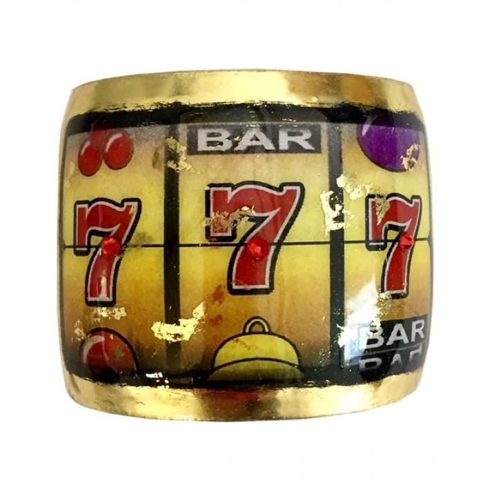 Jackpot! Cuff - CR110-Evocateur-Renee Taylor Gallery