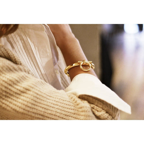 Gold Plated Bracelet - B0097 ORO-CXC-Renee Taylor Gallery