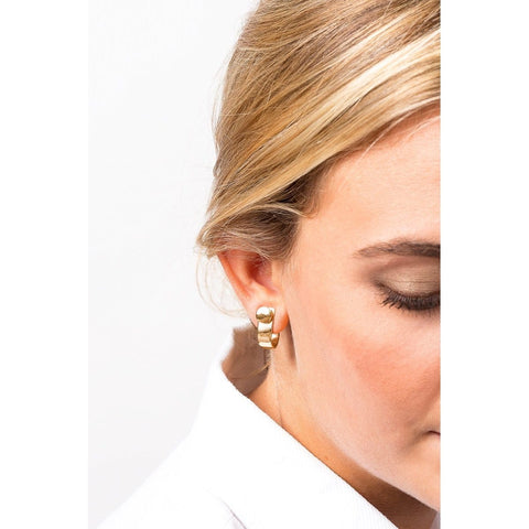 Gold Plated Earrings - E0030 ORO00 - CXC
