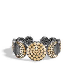 Dot Moon Phase Hammered Cuff - CZ30004BRD-John Hardy-Renee Taylor Gallery
