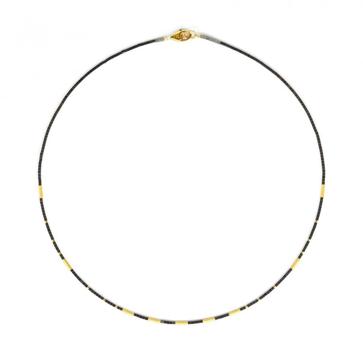Cliana Hematine Necklace - 84497206