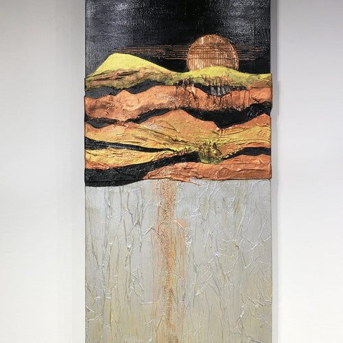 """Copper Moon in Sedona""-Jan Sitts-Renee Taylor Gallery"