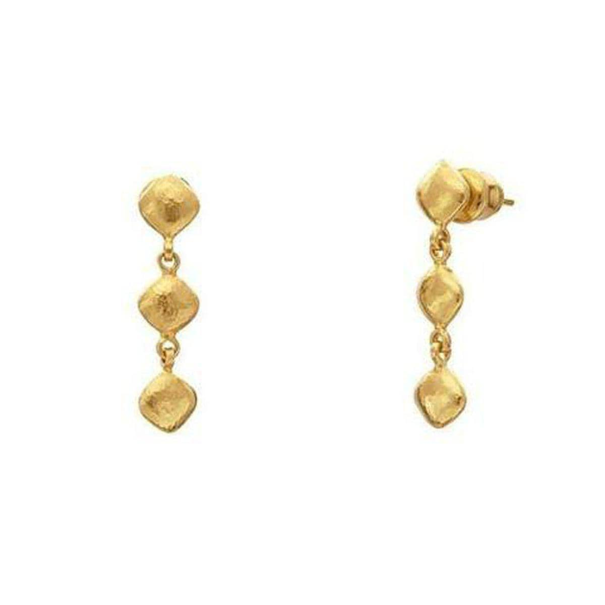 Spell 22K Gold Earrings - E-3CLT-P