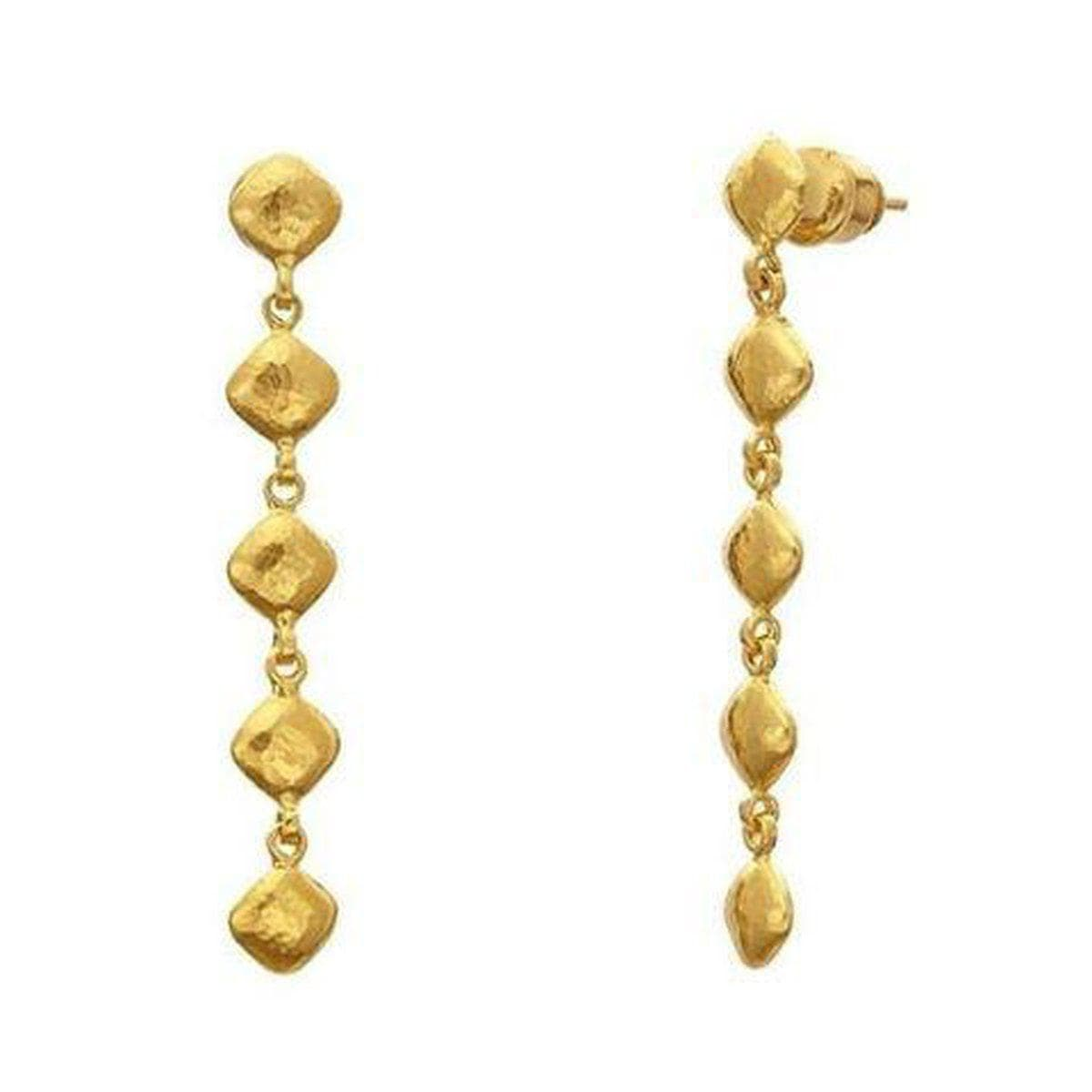 Spell 22K Gold Earrings - E-5CLT-P-GURHAN-Renee Taylor Gallery