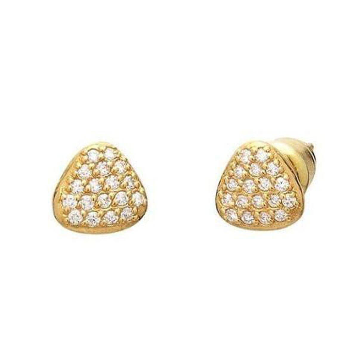 Spell 22K Gold White Diamond Earrings - E-PBLT-DIP-GURHAN-Renee Taylor Gallery