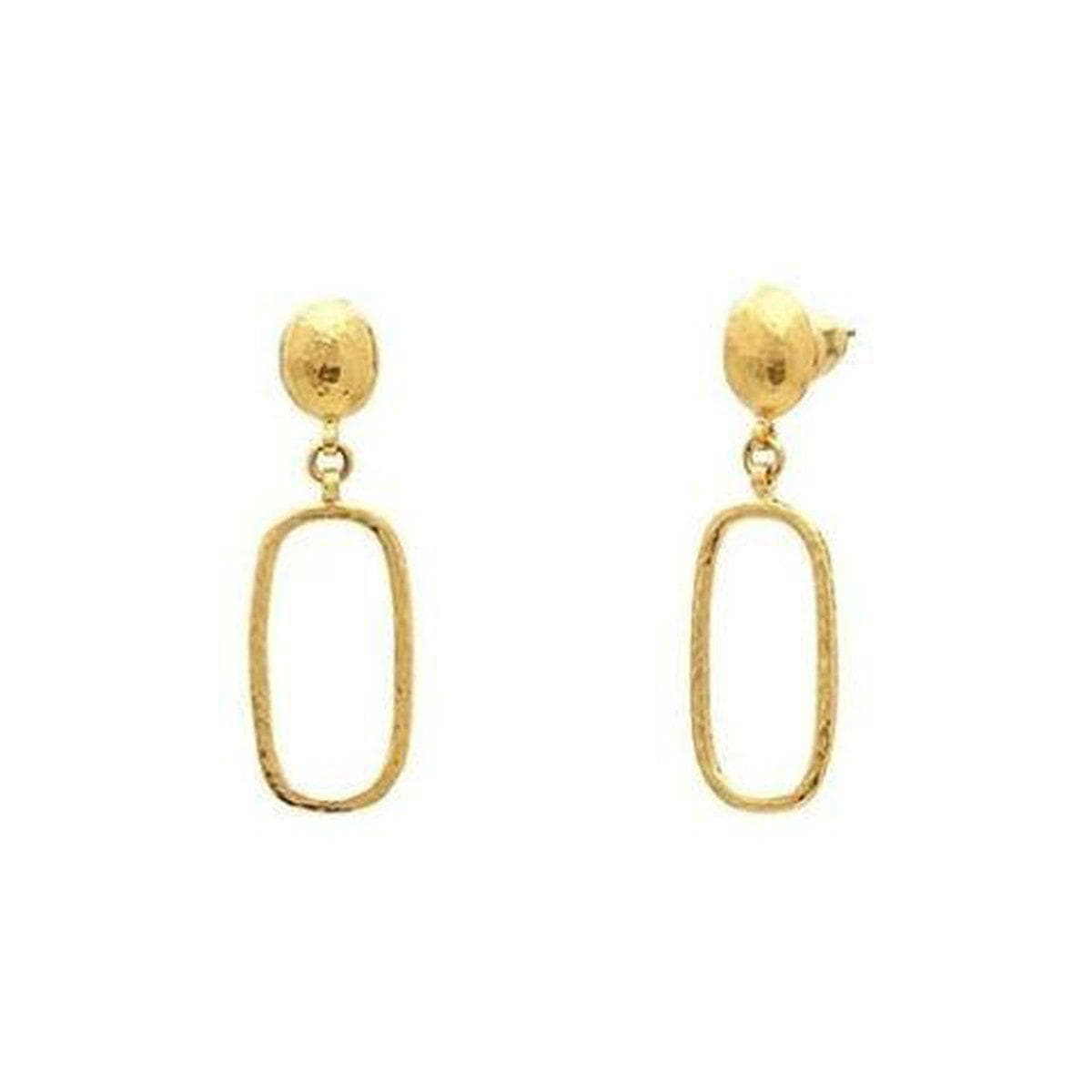 Delicate 22K Gold Earrings - E-PL-RTL-SD-JT-GURHAN-Renee Taylor Gallery