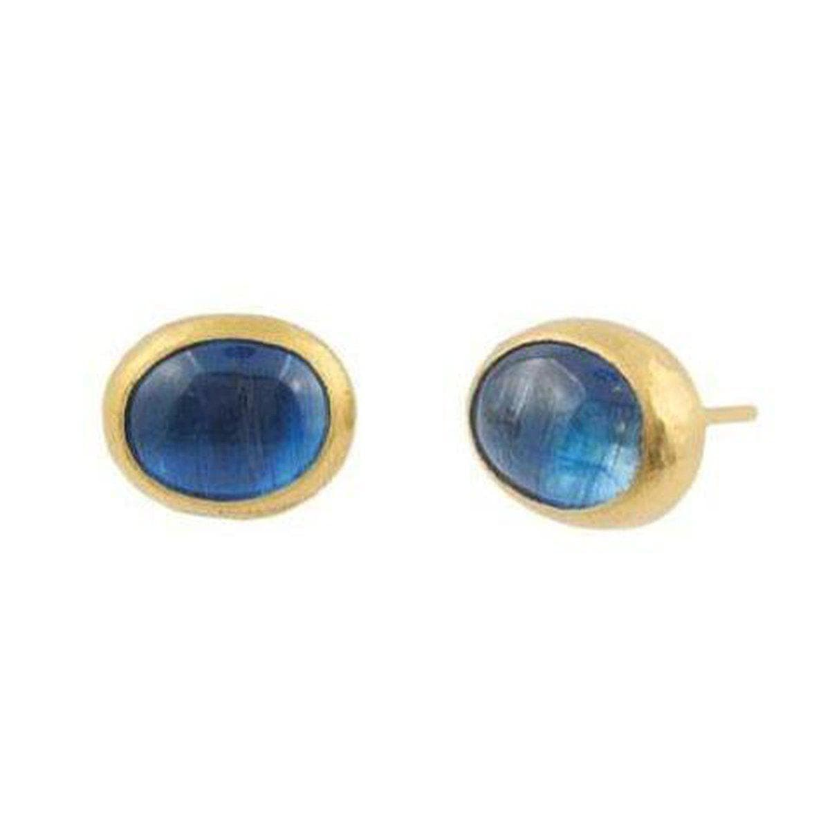 Amulet Hue 24K Gold Kyanite Earrings - E-U19846-KY-GURHAN-Renee Taylor Gallery