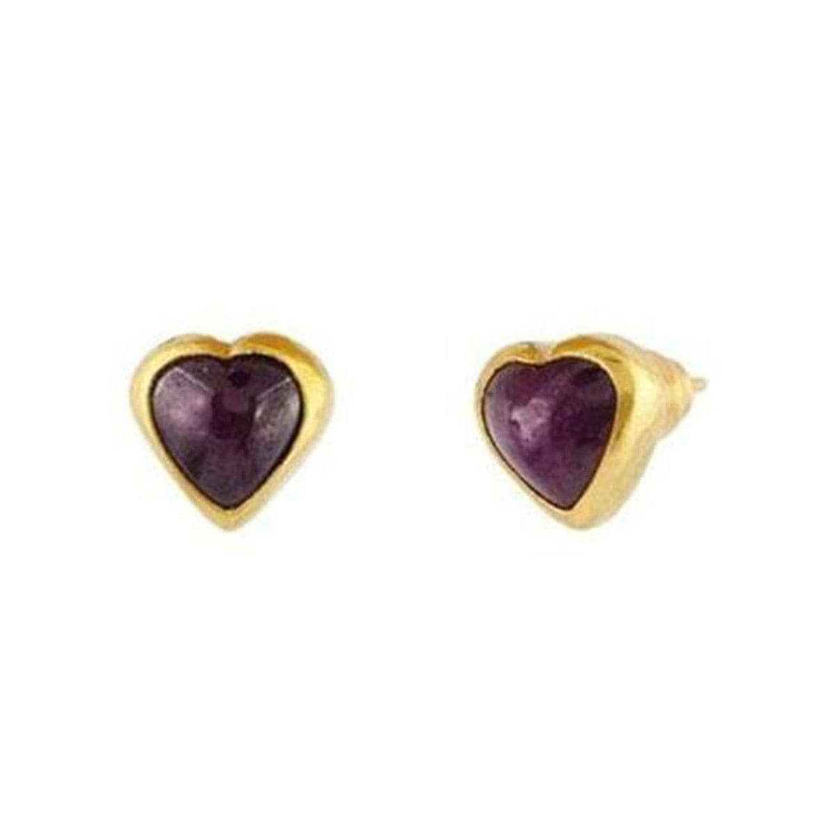Juju 24K Gold Ruby Earrings - E-U22535-RU-GURHAN-Renee Taylor Gallery