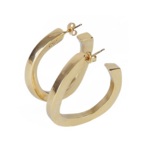 Gold Plated Earrings - E0020 ORO00-CXC-Renee Taylor Gallery