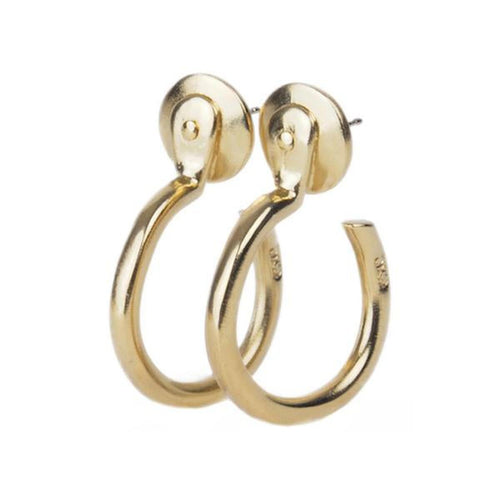 Gold Plated Earrings - E0022 ORO00-CXC-Renee Taylor Gallery
