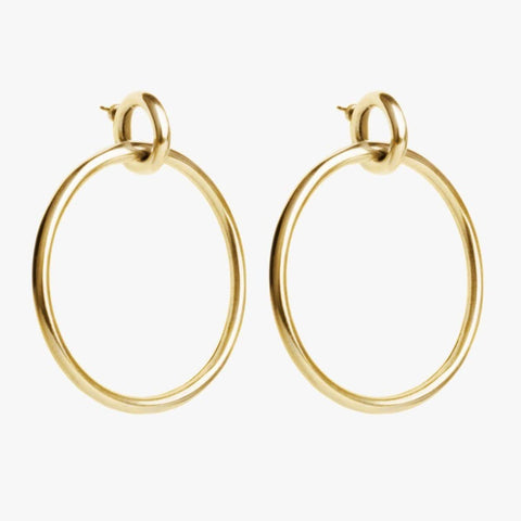 Gold Plated Earrings - E0029 ORO00-CXC-Renee Taylor Gallery