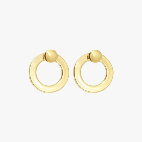 Gold Plated Earrings - E0033 ORO00-CXC-Renee Taylor Gallery