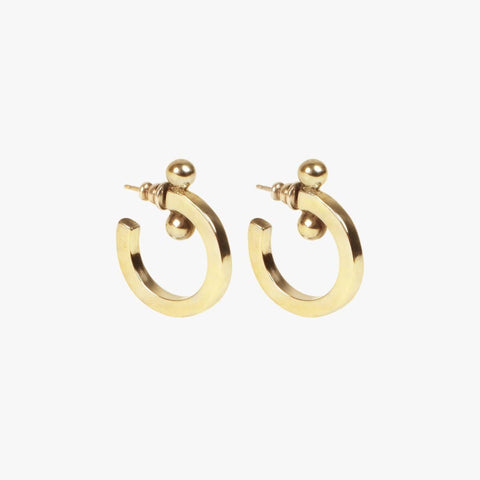 Gold Plated Earrings - E0038 ORO00-CXC-Renee Taylor Gallery