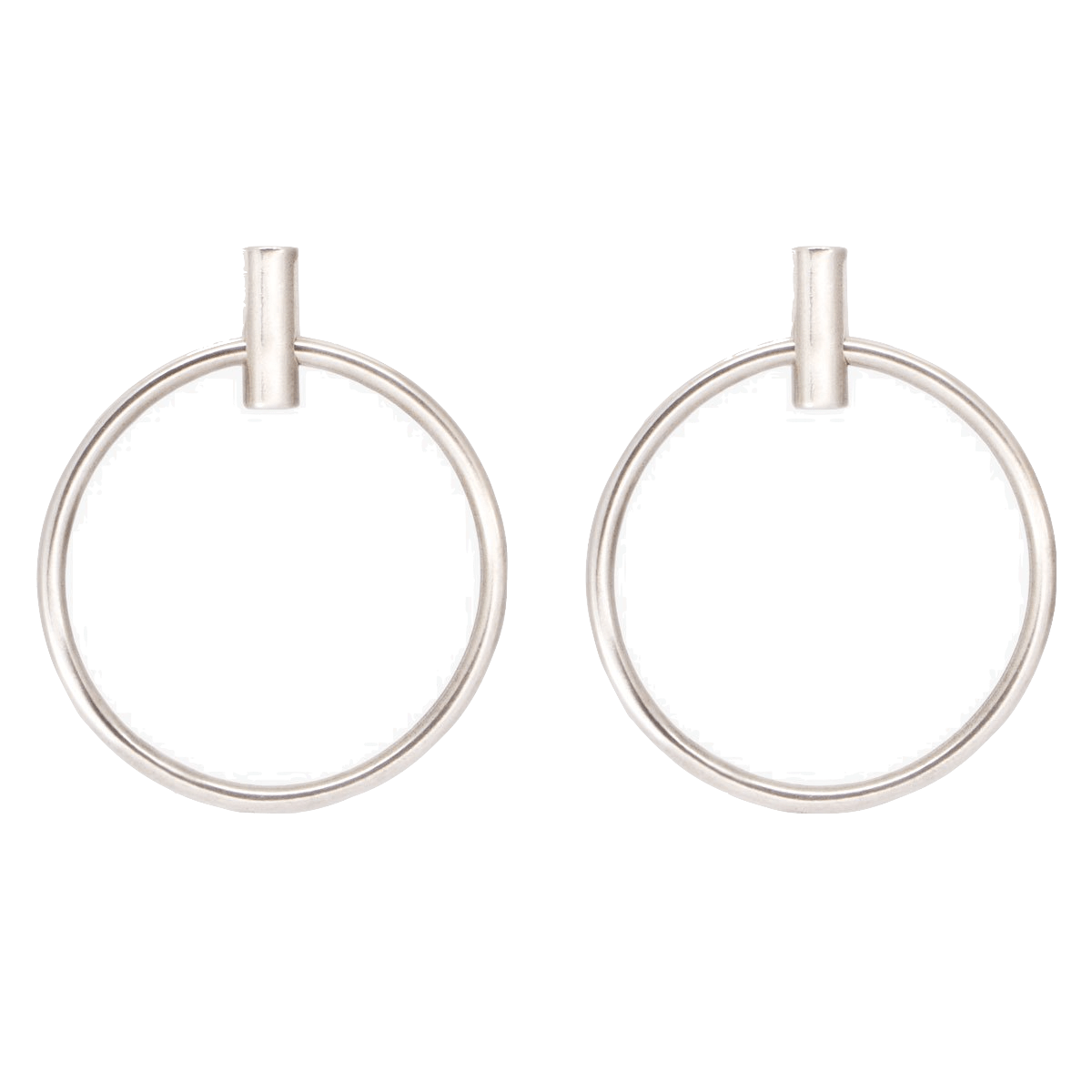 Sterling Silver Plated Earrings - E0042 MET00-CXC-Renee Taylor Gallery