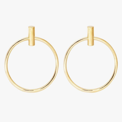 Gold Plated Earrings - E0042 ORO00-CXC-Renee Taylor Gallery