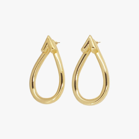 Gold Plated Earrings - E0044 ORO00-CXC-Renee Taylor Gallery