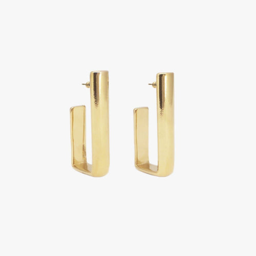 Gold Plated Earrings - E0045 ORO00-CXC-Renee Taylor Gallery