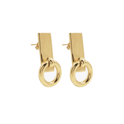 Gold Plated Earrings - E0049 ORO00-CXC-Renee Taylor Gallery