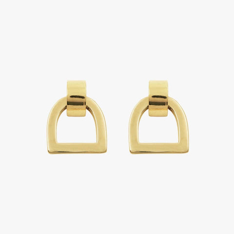 Gold Plated Earrings - E0055 ORO00-CXC-Renee Taylor Gallery