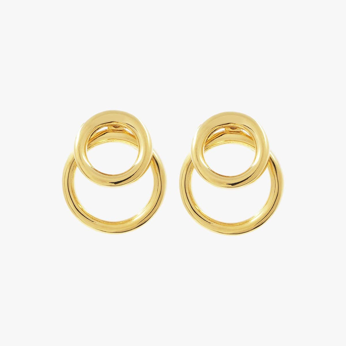 Gold Plated Earrings - E0058 ORO-CXC-Renee Taylor Gallery