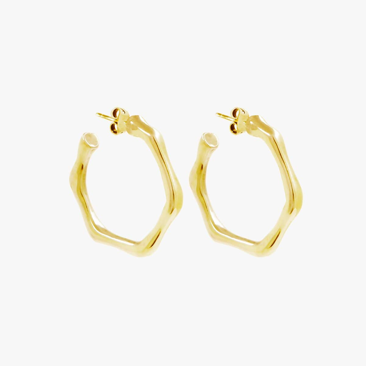 Gold Plated Earrings - E0060 ORO-CXC-Renee Taylor Gallery