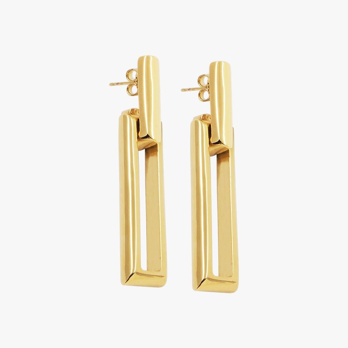 Gold Plated Earrings - E0062 ORO-CXC-Renee Taylor Gallery
