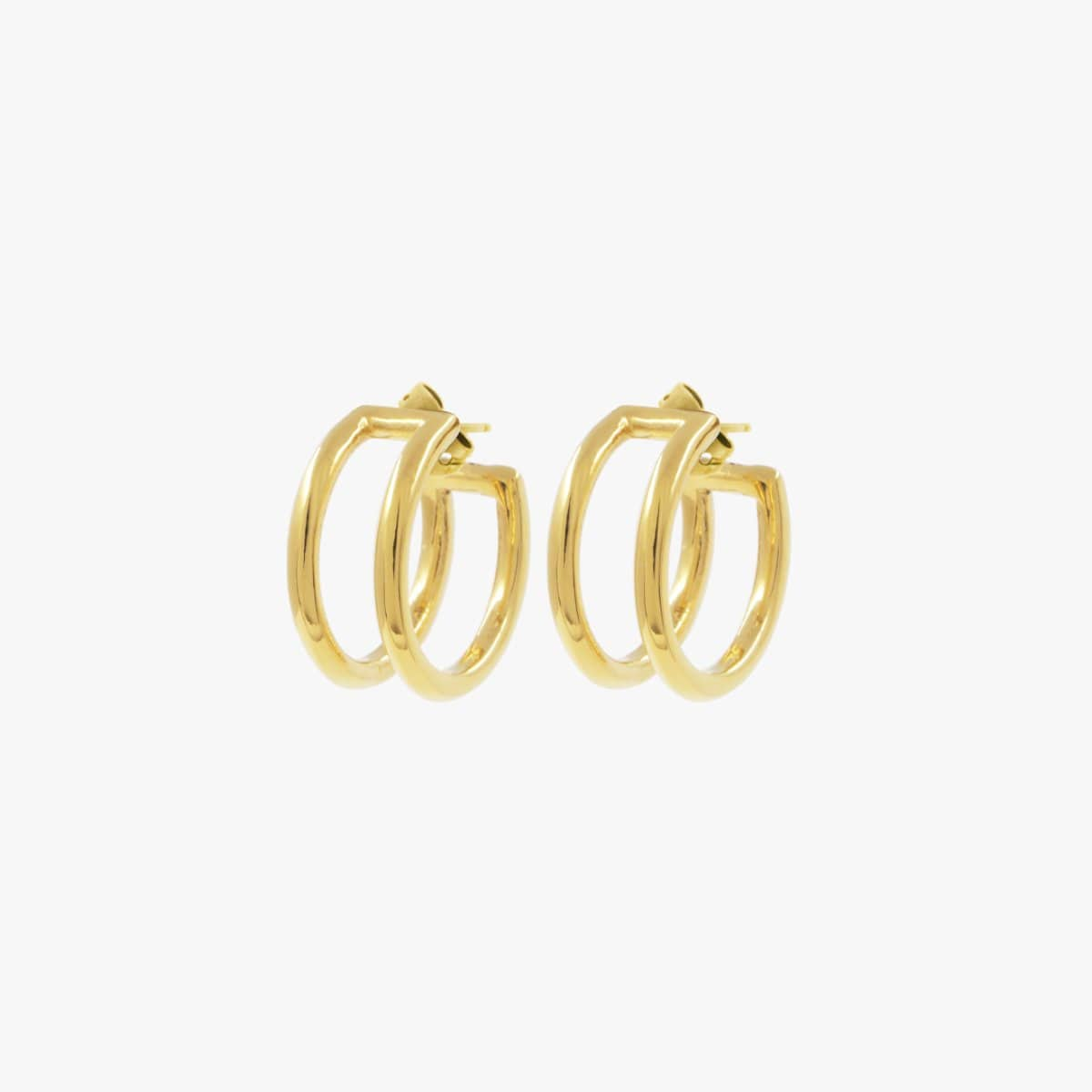 Gold Plated Earrings - E0063 ORO-CXC-Renee Taylor Gallery