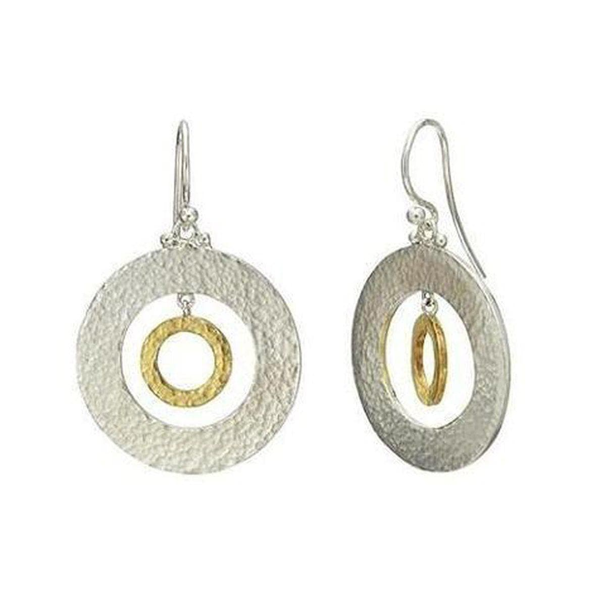 Mango Sterling Silver Earrings - EHSSG-HPF25W-HPF10G-GURHAN-Renee Taylor Gallery