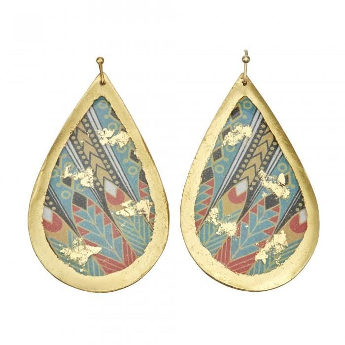 Erté Nile Teardrop Earrings - ER411 - Evocateur