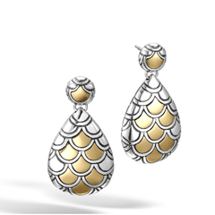 Legends Naga Drop Earrings - EZ65949-John Hardy-Renee Taylor Gallery
